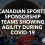 Canadian Sports Sponsorship Teams Showing Agility During COVID-19